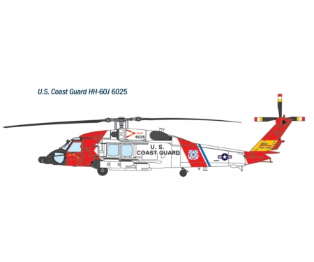 carson 1:72 HH-60J Coast Guard Model Set