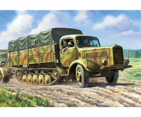 carson 1:35 Maultier L-4500R German Halftrack W