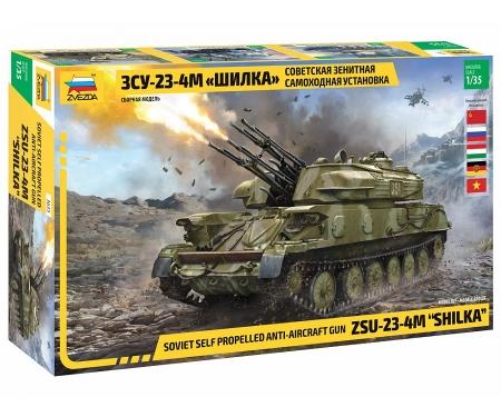 carson 1:35 ZSU-23-4M SHILKA Sov. anti aircraft