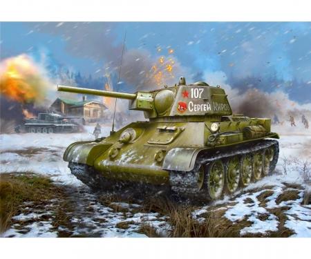 carson 1:35 T-34/76 Mod.1942 Hexag. turret Sov.