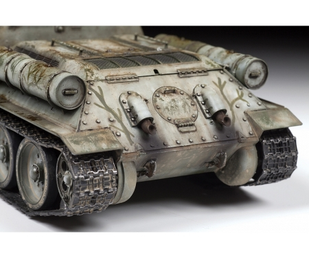 carson 1:35 SU-122 Sowjet. Self Propelled Gun