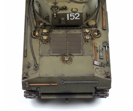 carson 1:35 M4A2 Sherman (75mm) Medium US WWII