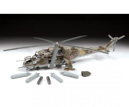 carson 1:48 MIL Mi-24V/VP(HIND)Combat Helicopt.