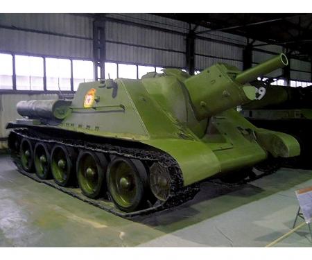 carson 1:72 SU-122 Soviet Tank Destroyer