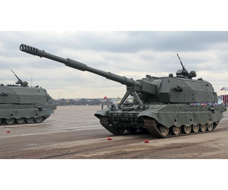 "carson 1:72 ""Koalitsya-SV""Self Propell.Howitzer"