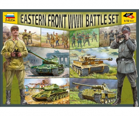 carson 1:72 WWII Battle Set Ostfront