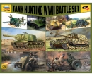 carson 1:72 WWII Battle Set Tank Hunting