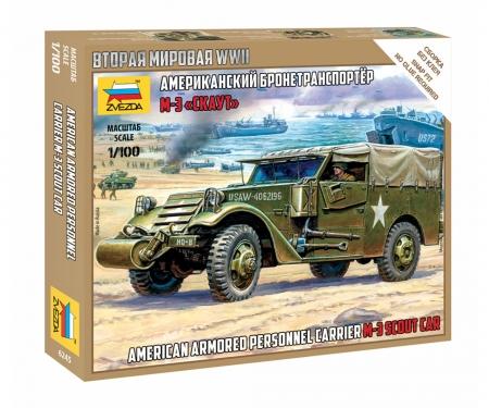 carson 1:100 M-3 Scout Car