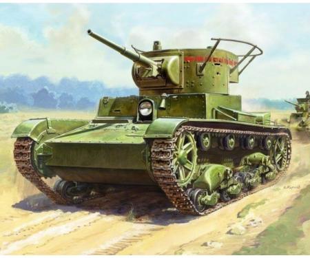 1:100 T-26 mod.1933 Sov. light tank WWII