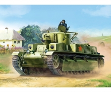 carson 1:100 T-28 Soviet heavy tank WWII