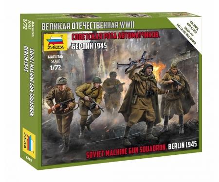 carson 1:72 Soviet machine gun squad WWII