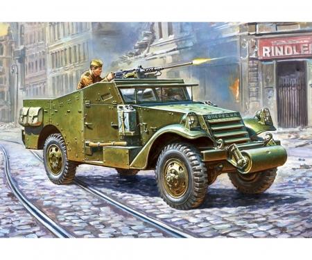 carson 1:100 Sov.M-3 Scout Car w/mach.gun WW II