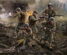 carson 1:72 US Infantry WWII
