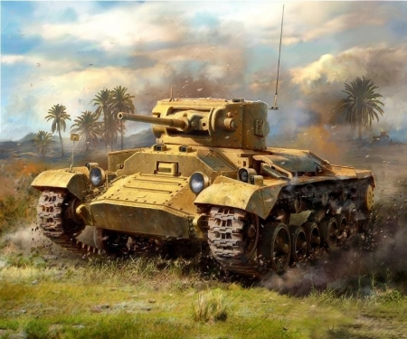 carson 1:100 Valentine II British Inf.Tank WWII