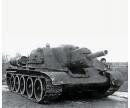 carson 1:100 Soviet Self Propelled Gun SU-122