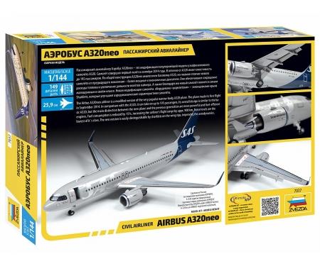 carson 1:144 Airbus A320 neo
