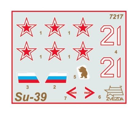 carson 1:72 Sukhoi SU-39 Russ. attack aircraft