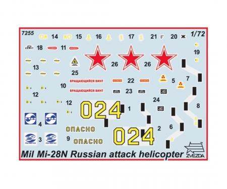 "carson 1:72 MIL MI-28ME""HAVOC""Russ. attack heli"
