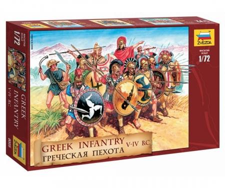 carson 1:72 Figure-Set Greek Infantry V-IV B.C.