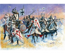 carson 1:72 Livonian Knights XIII A.D./Teutonic