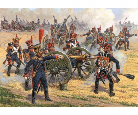 carson 1:72 French foot artillery 1810-1815