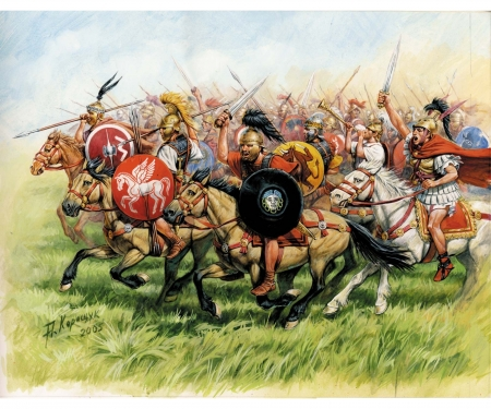 carson 1:72 Republican Rome, Cavalry III-I B.C.
