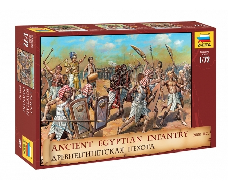 carson 1:72 Ancient Egyptian Infantry 2000 B.C.