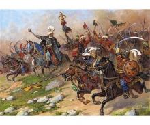 carson 1:72 Turkish cavalry 17th century
