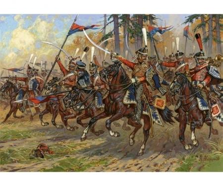 carson 1:72 Russ.Hussars Napoleon.Wars 1812-14