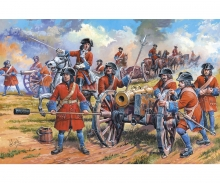 carson 1:72 Russ. artillery of Peter the Great