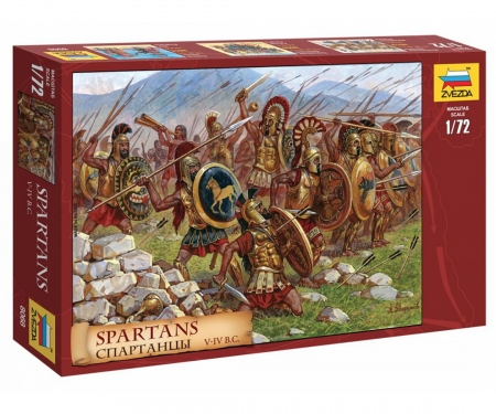 carson 1:72 Hist.-Figure-Set Spartiates