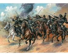 carson 1:72 Figure-Set Blk.Hussars