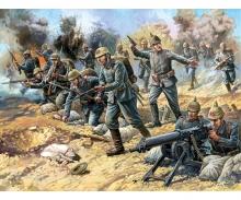 1:72 WW I Figure-Set Ger. Infantry
