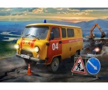 carson 1:43 UAZ Gas Service Car