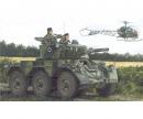 carson 1:35 British Armoured Car Saladin Mk.2