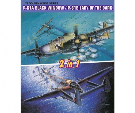 carson 1:72 P-61A BlackWidow/P-61B Lady of Dark