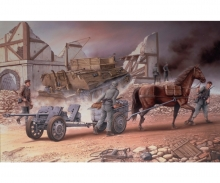 carson 1:35 Horse-Drawn 2,8cm sPzB41 AT Gun&JFB