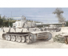 carson 1:35 Tiger I Initial Prod. s.Pz.Abt.502