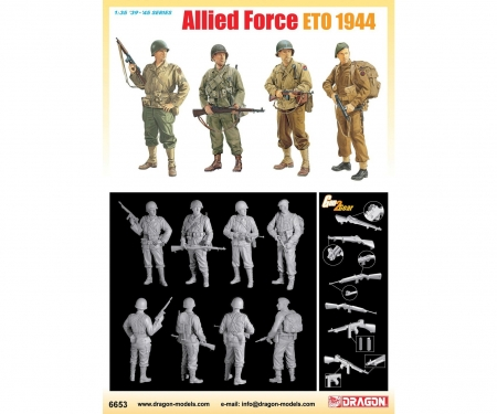 carson 1:35 Allied Force Eto 1944