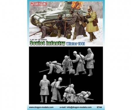 carson 1:35 Soviet Infantry Winter 1941