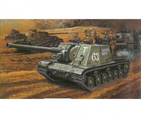 carson 1:35 JSU-122 vs Panzerjäger