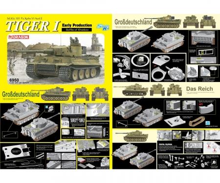 carson 1:35 Tiger I Early Pro Battle of Kharkov