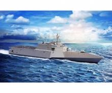 1:700 USS GabrielleGiffords LCS-10 w/NSM
