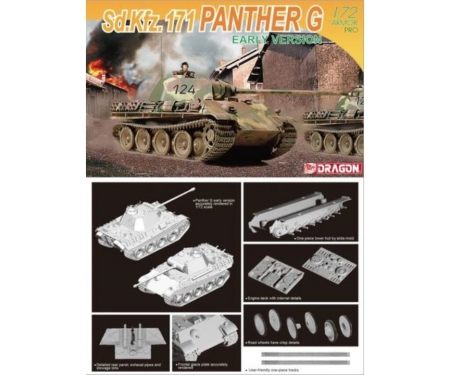 carson 1:72 Sd.Kfz.171 Panther G Early Version