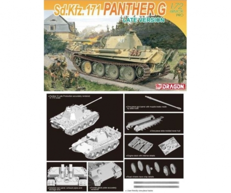 carson 1:72 Sd.Kfz.171 Panther G Late Version