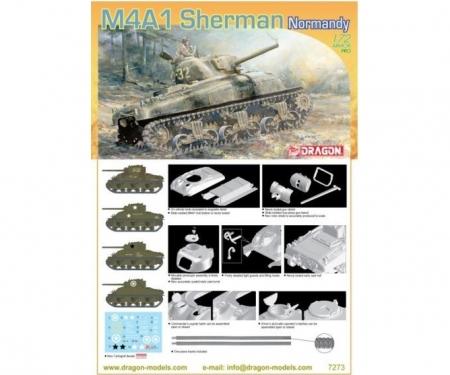 carson 1:72 M4A1 Sherman, Normandy 1944
