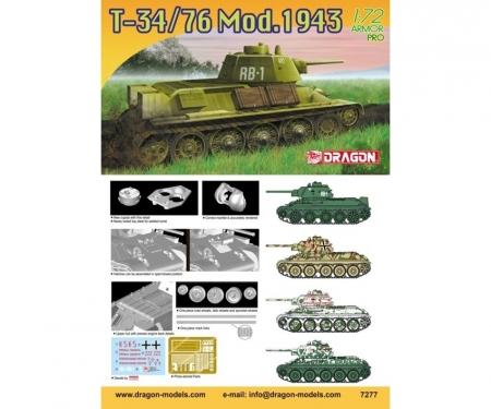 carson 1:72 T-34/76 Mod. 1943