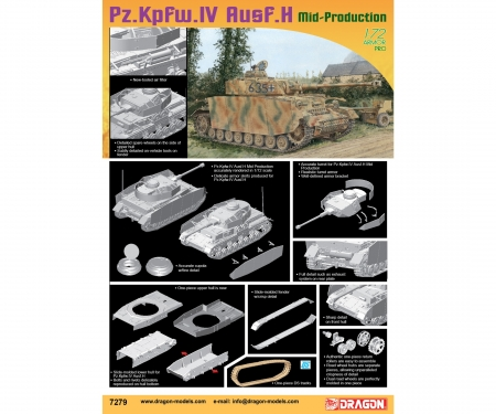 carson 1:72 Pz.Kpfw.IV Ausf.H Mid Production