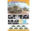 carson 1:72 M4A2 Tarawa