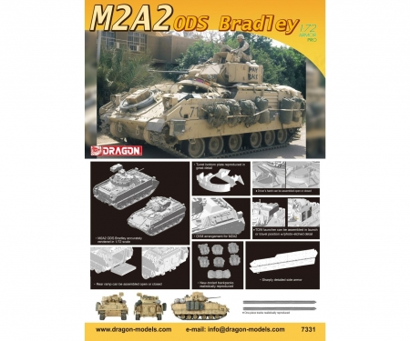 carson 1:72 M2A2 ODS Bradley